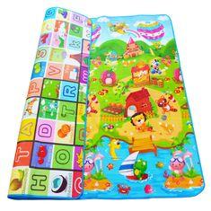 iMex Toys Hrací termo podložka pro děti 180 x 120 cm