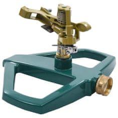 shumee Vrtljiv razpršilnik zelen 21x22x13 cm kovinski