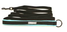 Aminela stopovací vodítko Sport & City M, 5 m tyrkysová/černá