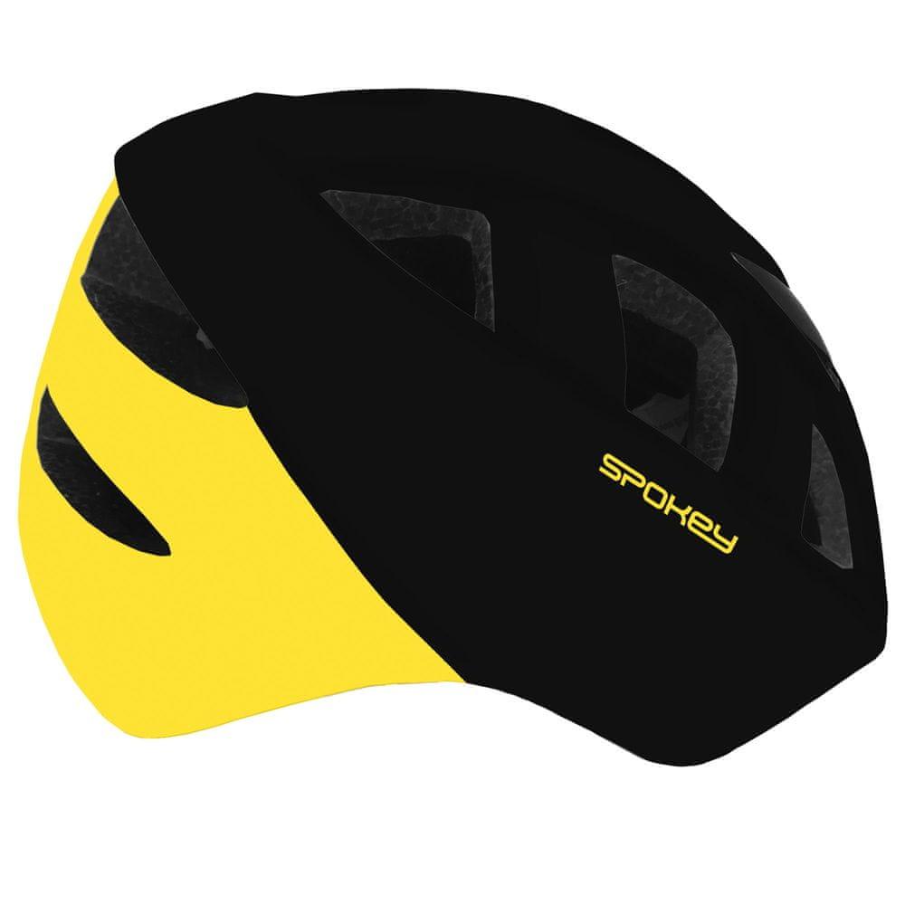 Spokey CHERUB Dětská cyklistická přilba IN-MOLD, 48-54 cm, žlutá