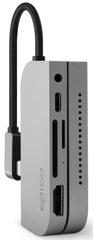 EPICO zvezdišče Type-C hub pad (za Apple iPad Pro) 9915112100030, srebrn