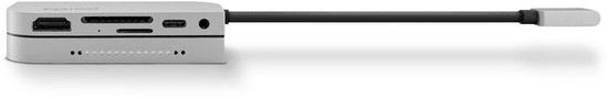 EPICO zvezdišče Type-C hub PAD (for Apple iPad Pro) 9915111900029, siv