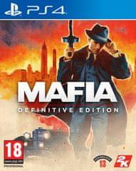 Take 2 Mafia - Definitive Edition igra (PS4)