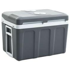 shumee Prenosný termoelektrický chladiaci box 45 l 12 V 230 V A ++