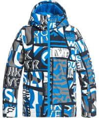 Quiksilver Chlapčenská bunda Mission Pt YTH B Snjt Bnl3 XS modrá
