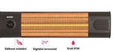 Simfer Karbonový infrazářič S2360WTB UK