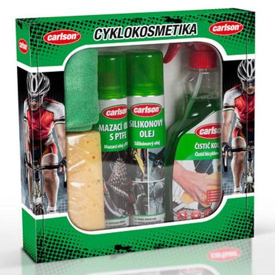 Carlson Dárková sada cyklokosmetiky Bicycle Edition - pro jízdní kola / elektrokola