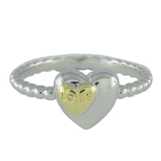 Amiatex Ezüst gyűrű 65593, 55