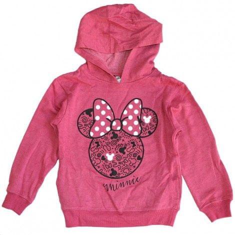 """SETINO Bluza dziewczęca """"Myszka Minnie"""" - ciemno różowy"""