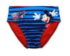 "SETINO Fantovske plavalne hlače ""Mickey Mouse"" - rdeča - 104 / 3–4 leta"