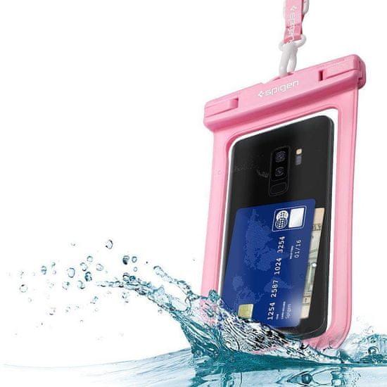 Spigen A600 vodoodorna torbica univerzalna, roza