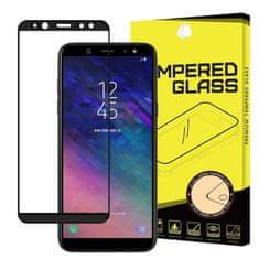 MG Full Glue Super Tough zaščitno steklo za Samsung Galaxy A6 2018, črna