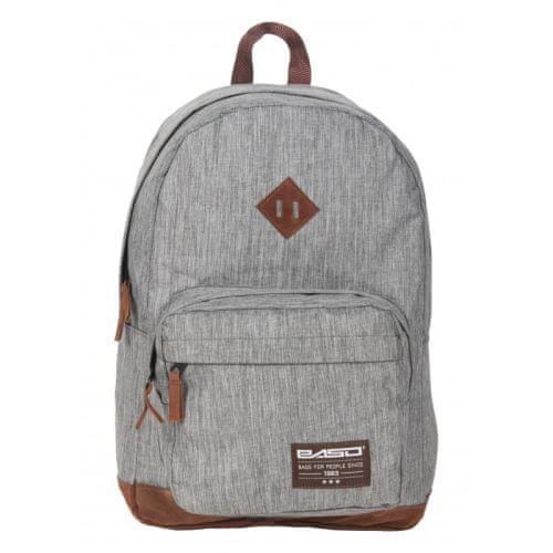Paso Dětský batoh šedý 19-229s