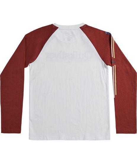 Quiksilver Chlapecké tričko Tropical lines ls yth B Tees Wbk0
