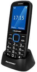 Blaupunkt BS 04 GSM telefon, črn