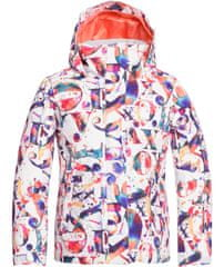 ROXY Dievčenská snowboardová/lyžiarska bunda Rx Jetty Girl J G Snjt Wbn2 S biela