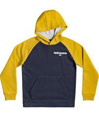 Quiksilver bluza chłopięca Kool enough hood youth 3 B Otlr Byp0, XS zółty