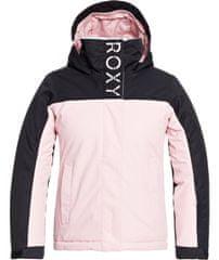 ROXY Dievčenská snowboardová / lyžiarska bunda Galaxy Girl Jk G Snjt Mem0 S ružová