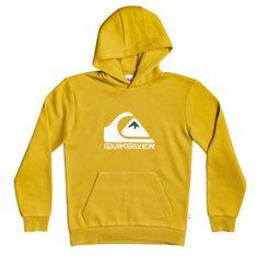 Quiksilver Chlapecká mikina Big logo hood youth 7 B Otlr Ylv0 XS žlutá