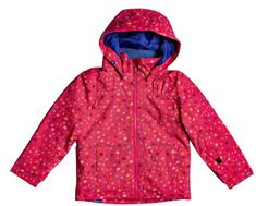 Roxy dívčí lyžařská bunda Mini Jetty Jk K Snjt Mzf3 růžová 2