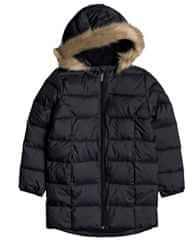 Roxy Dívčí zimní kabát Only Love G Jckt Kvj0 černá XS