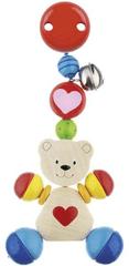 Goki Hračka s klipem - medvídek