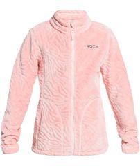 Roxy Dívčí zimní mikina Igloo Girl G Otlr Mem0 S růžová