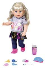 BABY born lalka starsza siostra Soft Touch, blondynka, 43 cm