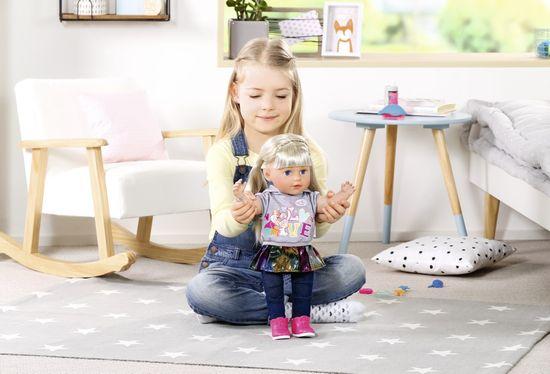 BABY born Staršia sestrička Soft Touch, blondínka, 43 cm