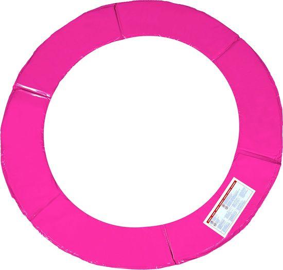aGa SPORT TOP Trampolina ogrodowa 180 cm 6ft z siatką zewnętrzną - Pink