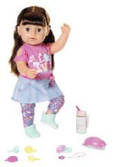 BABY born Starší sestřička Soft Touch, brunetka, 43 cm