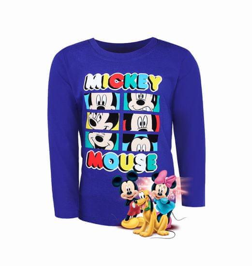 """SETINO Fantovska majica z dolgimi rokavi """"Mickey Mouse"""" - temno modra"""