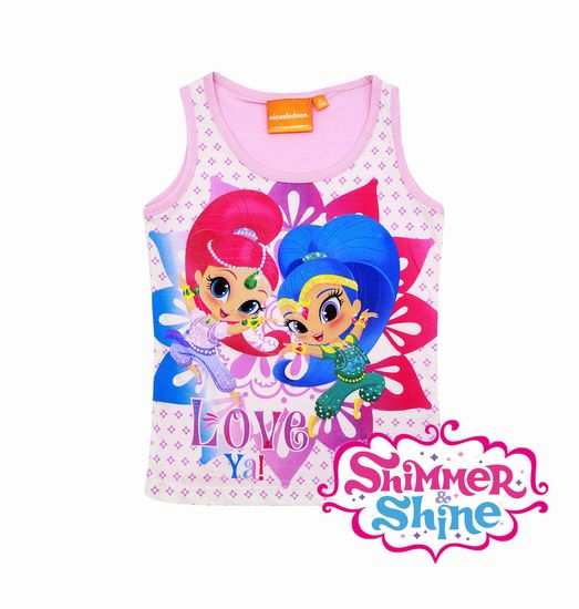 """SETINO Koszulka dziewczęca bez rękawów """"Shimmer i Shine"""" -"""