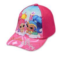 """SETINO Lány baseball sapka """"Shimmer és Shine"""" - rózsaszín - 54 cm"""
