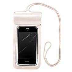 MG Waterproof vodotesno ovitek za mobil 6.6'', bež