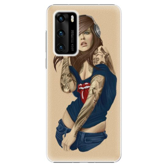 iSaprio Plastikowa obudowa - Girl 03 na Huawei P40