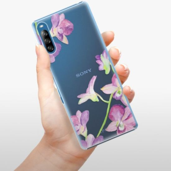 iSaprio Plastový kryt - Purple Orchid pro Sony Xperia L4