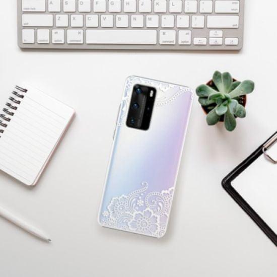 iSaprio White Lace 02 műanyag tok Huawei P40 Pro