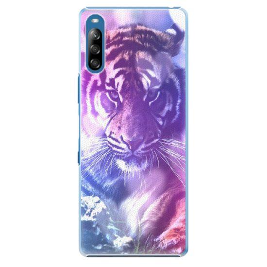 iSaprio Plastový kryt - Purple Tiger pro Sony Xperia L4