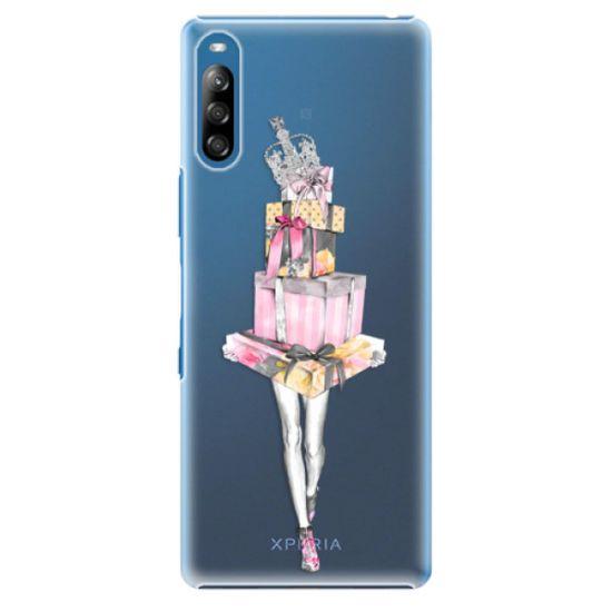 iSaprio Plastikowa obudowa - Queen of Shopping na Sony Xperia L4