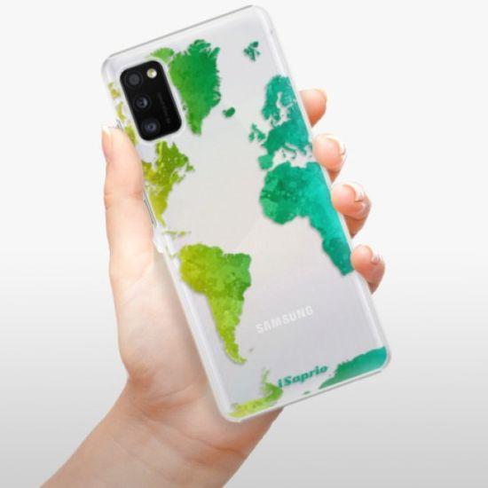 iSaprio Plastikowa obudowa - Cold Map na Samsung Galaxy A41