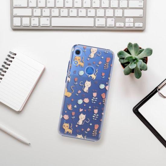 iSaprio Plastikowa obudowa - Cat pattern 02 na Huawei Y6s
