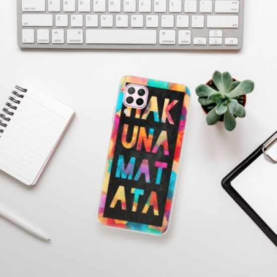 iSaprio Silikonowe etui - Hakuna Matata 01 na Huawei P40 Lite
