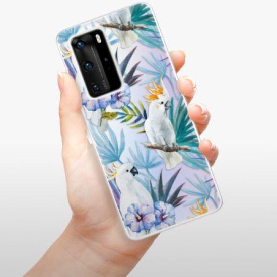 iSaprio Parrot Pattern 01 szilikon tok Huawei P40 Pro