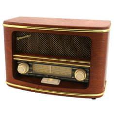 Roadstar retro rádió, HRA-1500N, retro