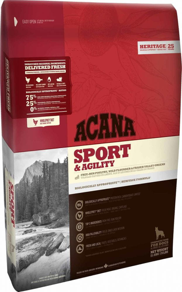 Acana HERITAGE Class. Sport and Agility 17 kg