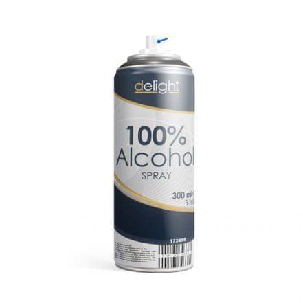 Delight 100% alkohol v spreju za razkuževanje površin - 300 ml