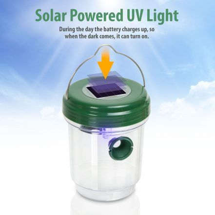 GARDEN OF EDEN UV LED solarna past za insekte