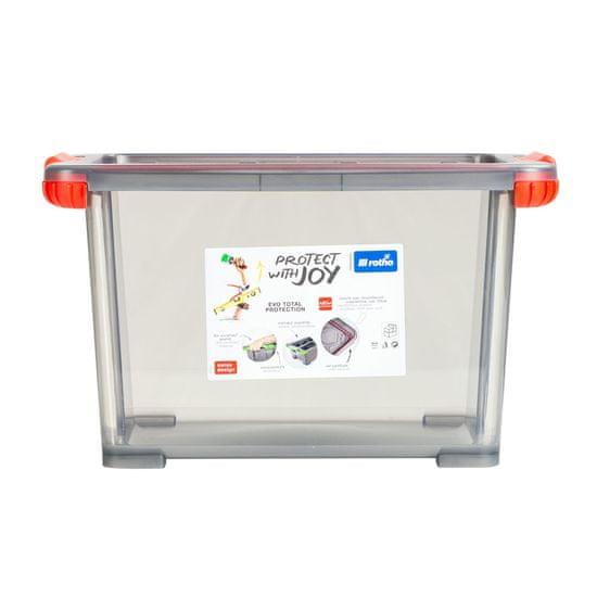 Rotho škatla za shranjevanje EVO TOTAL, 15 l