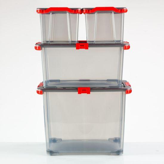 Rotho škatla za shranjevanje s kolesi EVO TOTAL, 65 l